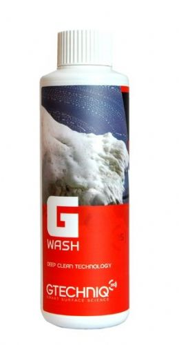 GTechniq W1 G-Wash 250ml Maintenance Shampoo Detailing Car Van